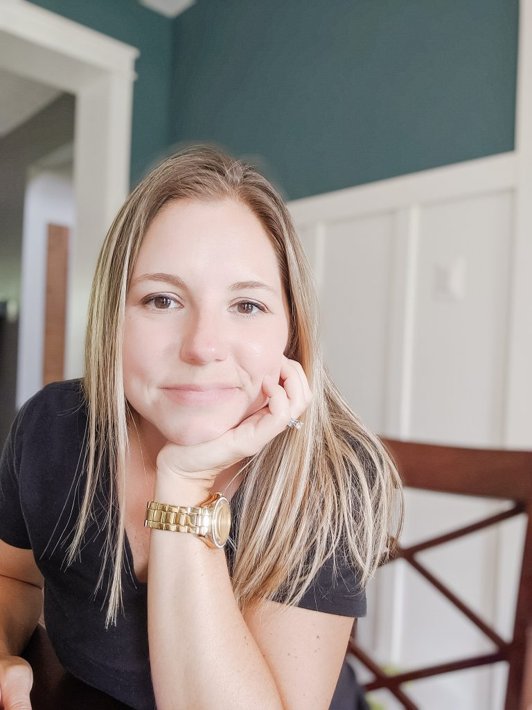 Melissa Corriveau, owner of Life with Less Mess and founding member of Organizers Connect